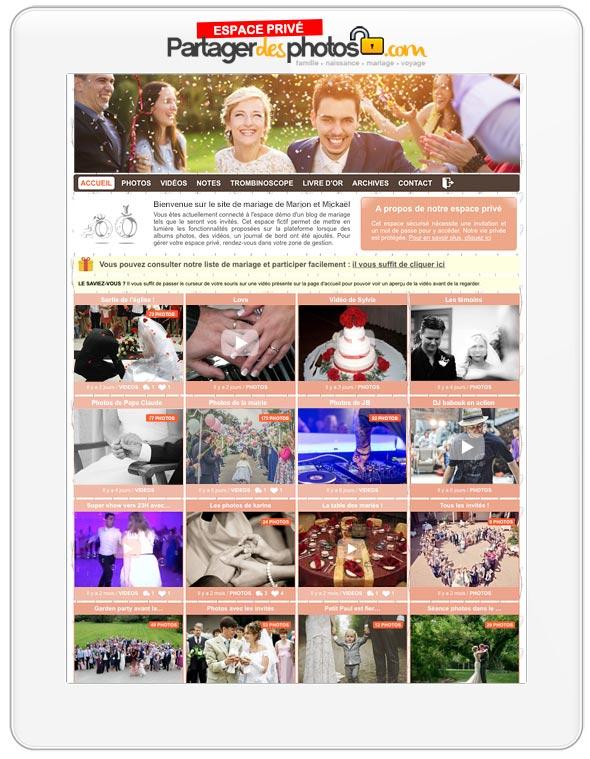 partager-des-photos-de-mariage